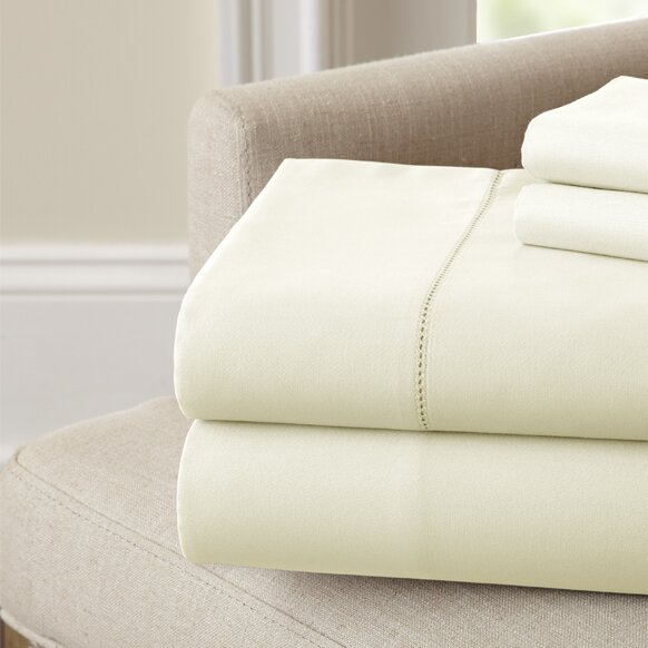 Holmes 400 Thread Count 100% Cotton Sheet Set by The Twillery Co.